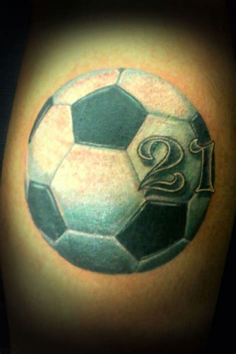 soccer ball tattoos designs 170 best fussballtattoos images on