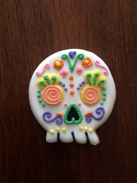 galletas decoradas cookies 8416138192 calavera galletas de mantequilla decoradas con royal icing halloween royal