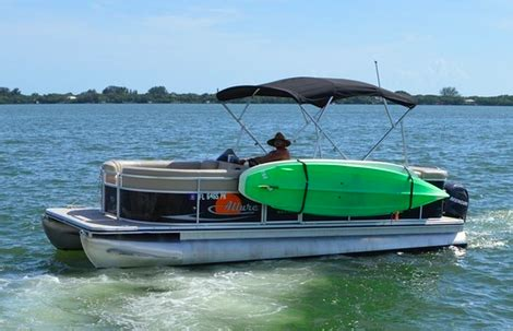 pontoon boats in choppy water storeyourboard blog sup racks for boats paddleboard