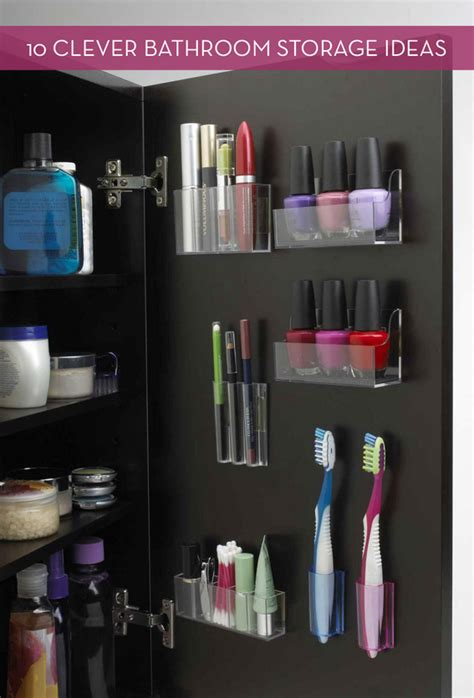clever bathroom storage ideas 10 clever bathroom storage and organization ideas