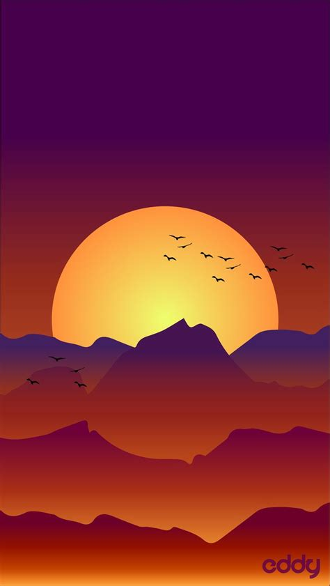 vector landscape sunrise illustrator vector sun