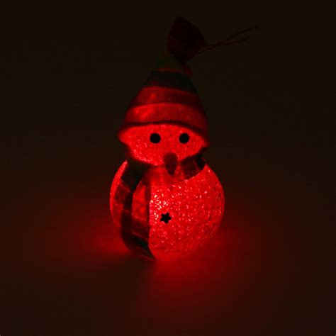 small night light l buy crystal christmas snowman colorful small night light