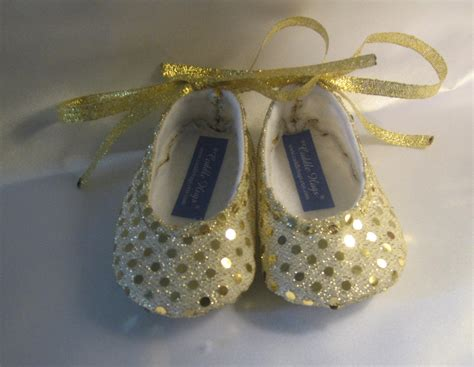 gold baby shoes sweet glittering gold sparkle baby shoes ballet