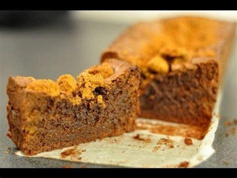 hervé cuisine cake chocolat recette du cake au chocolat et speculoos