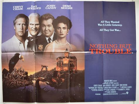 watch online nothing but trouble 1991 full movie official trailer nothing but trouble original cinema movie poster from pastposters com british quad posters and