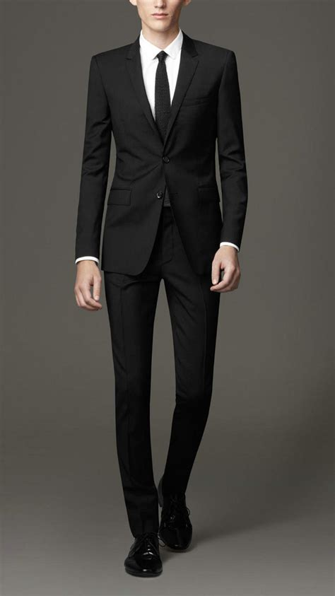 Black Formal Style Suit 41444 popular black suit buy cheap black suit lots from