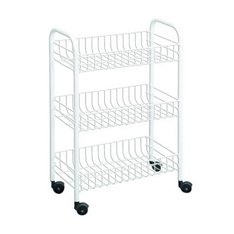 Laundry Room Storage Cart 3 Tier Multi Use Laundry Utility Room Rolling Storage Basket Shelves Cart Bins Ebay