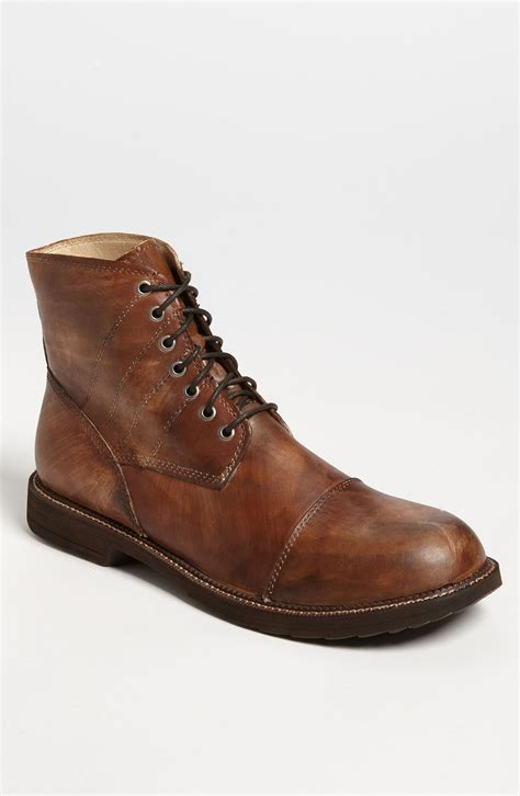 bed stu bed stu caffy cap toe boot online exclusive in brown for men natural dirty veg lyst