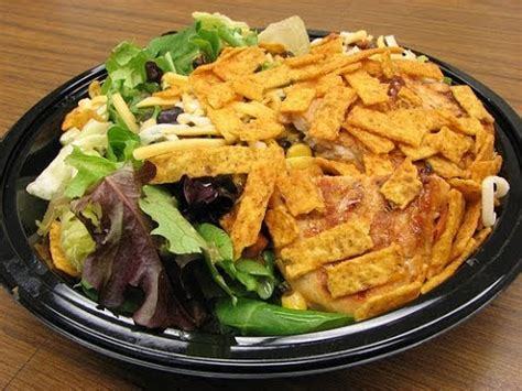 Grilled Chicken Salad Mcdonalds Vs Wendys by Mcdonald S Southwest Chicken Salad Review