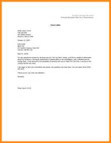 Cover Letter For Business Plan by 8 Cover Letter Business Plan Actor Resumed