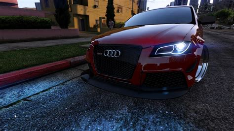 Audi Rs3 Mods by Audi Rs3 Add On Gta5 Mods