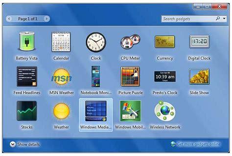 best gadgets for windows 7 top useful desktop gadgets for windows 7 ecolumns