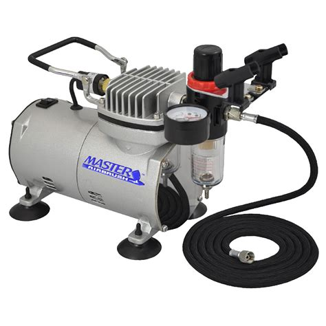 master airbrush high performance air compressor with filter black hose ebay