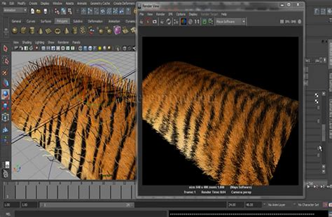 maya hair tutorial way you want stereopixol how to create tiger fur using fur in autodesk
