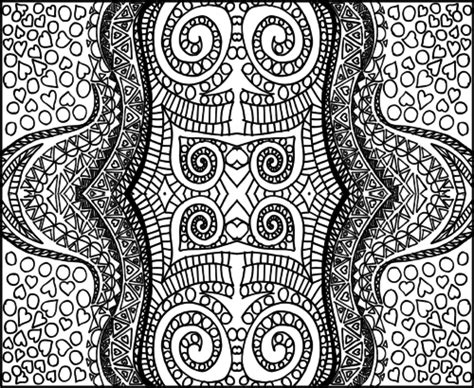 doodle designs to color doodle coloring page intricate designs 4
