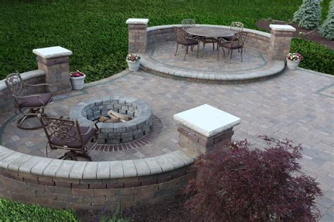 brick patio ideas with fire pit fire pit design ideas