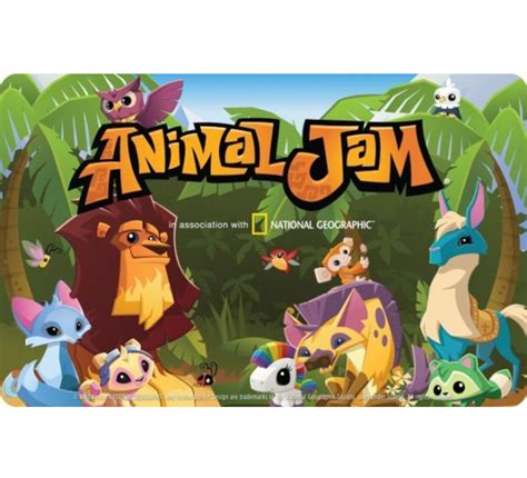 Animaljam Gift Cards - animal jam digital gift card fast email delivery ebay