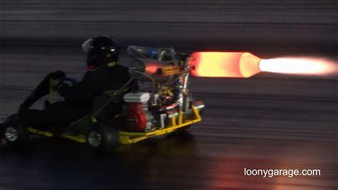 jet engine  kart  afterburner youtube