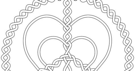 kids page peace and love corazones hearts coloring pages