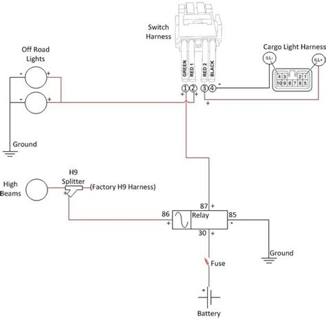 spdt relay wiring diagram 5pin dpst relay diagram wiring