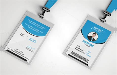 office id card template free 21 id cards sle templates