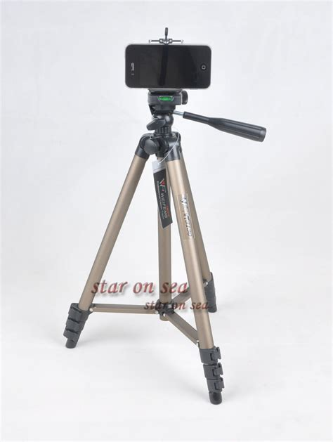 Tripod Weifeng Wt 3130 new weifeng wt 3130 handiness camcorder dv tripod mobile phone clip in tripods