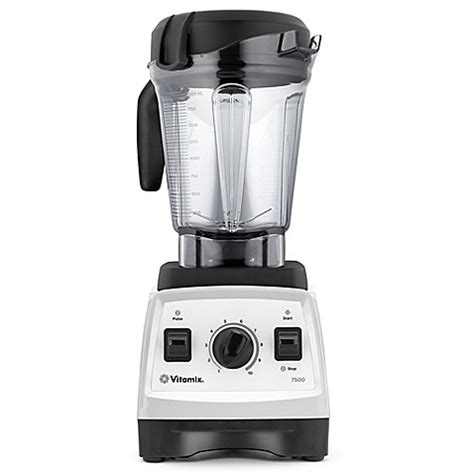 vitamix bed bath and beyond buy vitamix 174 7500 low profile blender in white from bed