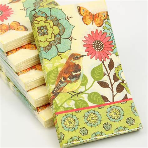 How To Decoupage With Paper Napkins - aliexpress buy 2 x decoupage napkins cypress home 33