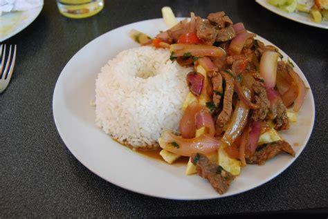 peru dish lomo saltado a dish of nation building cuzco eats