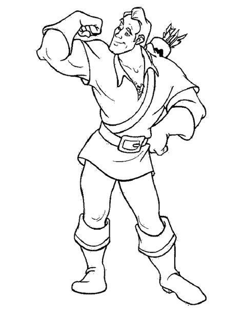 beauty and the beast coloring pages gaston gaston coloring pages coloring pages