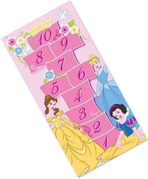 Disney Princess Hopscotch Rug - buy disney princess large rug hopscotch from our