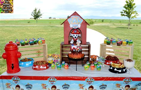 Home Decor Jars by Paw Patrol Birthday Party