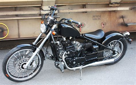 Wmi Motorrad Chopper Dragtail 125 by Customizing Custombikes Vs 1400 Suzuki Intruder