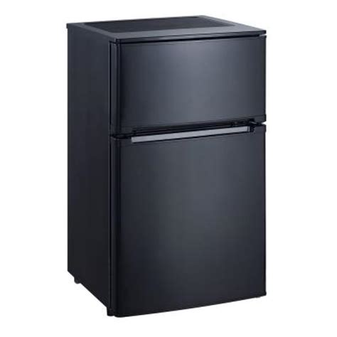 vissani 3 1 cu ft mini refrigerator in black energy