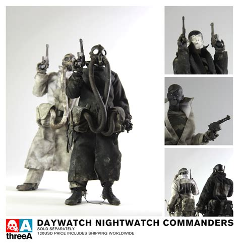 Threea 3a Severed Robot 12 threea toys daywatch nightwatch commanders wwr grunts and more teaser pics actionfigurepics