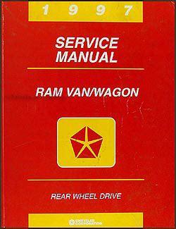 auto manual repair 1995 dodge ram van 1500 electronic valve timing 1997 dodge ram van wagon repair shop manual original b1500 b3500