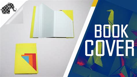 How To Make Origami Book - origami how to make an origami book cover