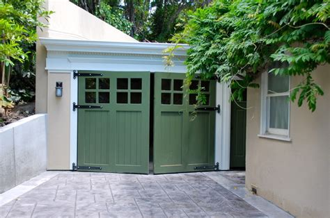 swing garage door out swing carriage garage doors traditional garage and