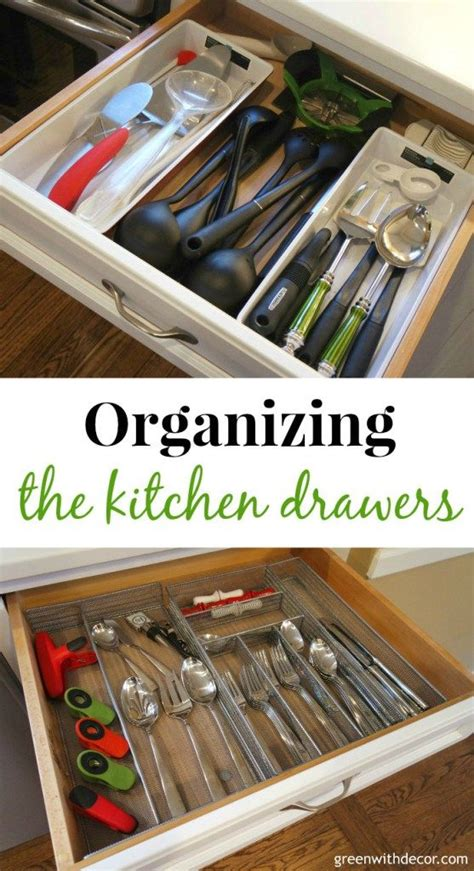 How To Organize Your Kitchen Cabinets And Drawers Organizing The Kitchen Drawers Kitchen Drawers Organizing And Drawers