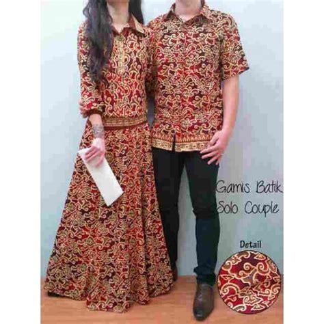 Gamis A Fit L sarimbit batik butik destira