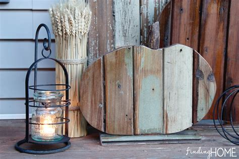 fall decorating diy reclaimed wood pumpkins finding