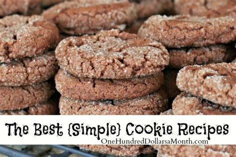 easy cookie recipes 103 best recipes for chocolate chip cookies cake mix creations bars and treats everyone will books recipes the best simple cookie recipes one hundred