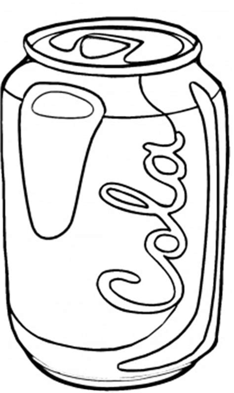 Soda Colour Bottle My Bottle picture of soda pop coloring pages