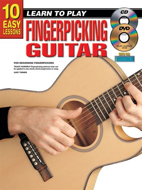 learn guitar yourself 10 easy lessons learn to play fingerpicking guitar