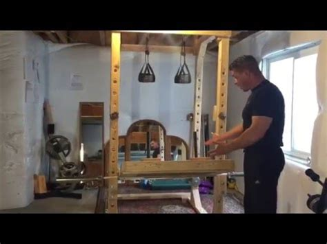 to do at home for diy leg press for power rack