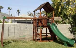 Pics photos playsets wooden backyard swing equipment