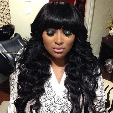 Black Hairstyles With Bangs On by 126 Black Hairstyles Hairdo Ideas Tips Designs
