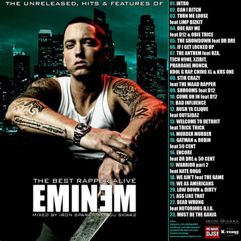 best of eminem eminem eminem the hits unreleased features of the