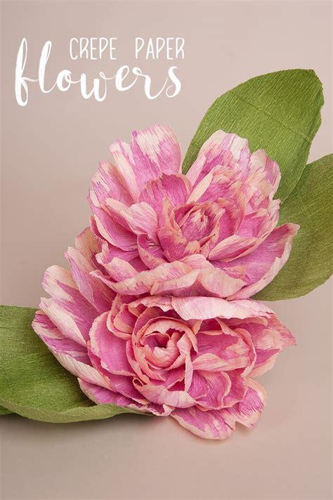 crepe paper flower pattern 3761 best craft handmade flowers images on pinterest