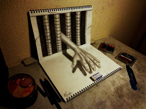 3d Drawer 3d drawing work by nagaihideyuki on deviantart